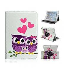 Apple iPad Mini Lover Owls Printed Flip Stand Cover Case