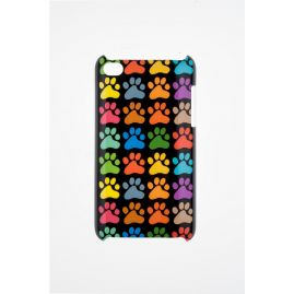 Kitty Footprints Case Cover On Your iPod 4