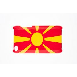 Macedonia Flag Case Cover On Your iPod4