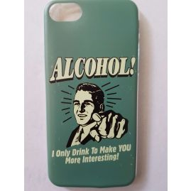 Funny Alcohol Statement Case for iPhone 7